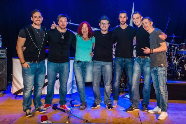 ENDEFFEKT News – Benefiz Rock Gruppenfoto Tanja